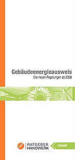 Gebäudeenergieausweis (PDF)